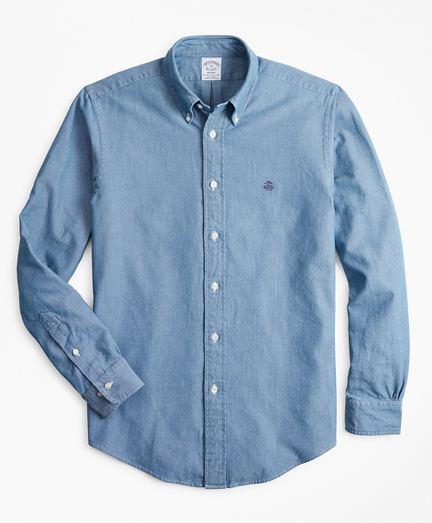 Madison Fit Indigo Oxford Sport Shirt