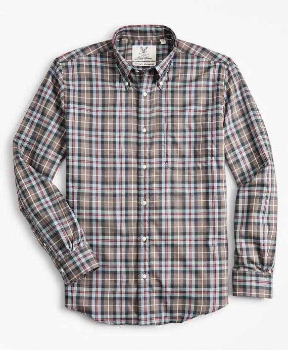 Regent Regular-Fit Sport Shirt, Braemar™ Ancient Madder Tartan Grey
