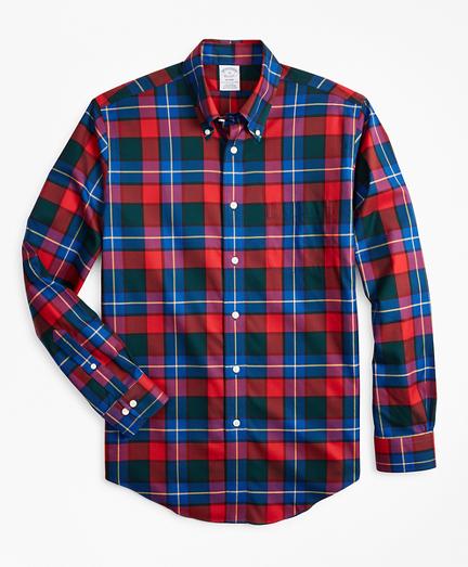 Non-Iron Regent Fit Kilgour Tartan Sport Shirt
