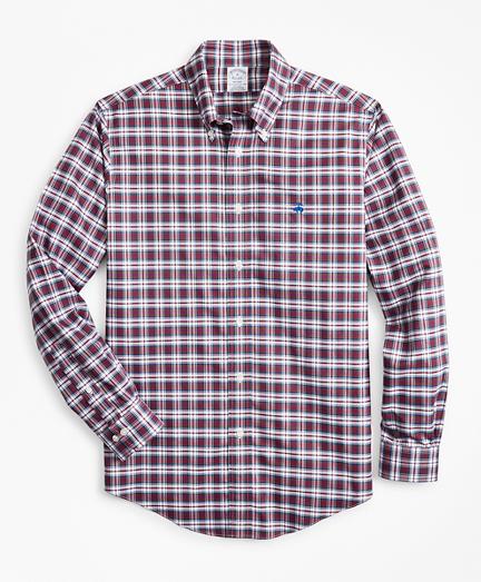 Non-Iron Regent Fit MacDonald  Tartan Dress Sport Shirt