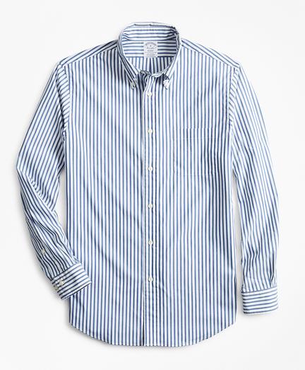 Performance Series Regent-Fit COOLMAX® Poplin Striped Sport Shirt