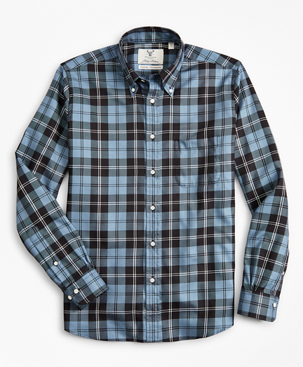 Madison Fit Braemar™ Ancient Madder Tartan Sport Shirt