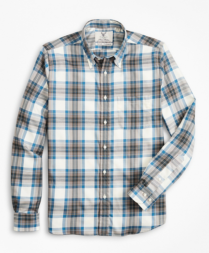 Milano Fit Braemar™ Ancient Madder Tartan Sport Shirt