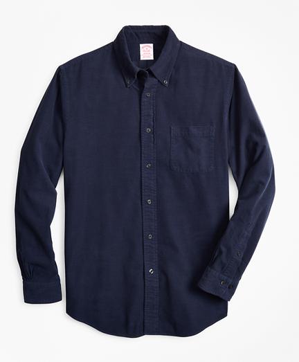 Madison Fit Garment-Dyed Corduroy Sport Shirt