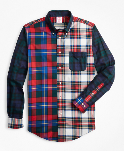 Non-Iron Madison Fit Tartan Fun Sport Shirt