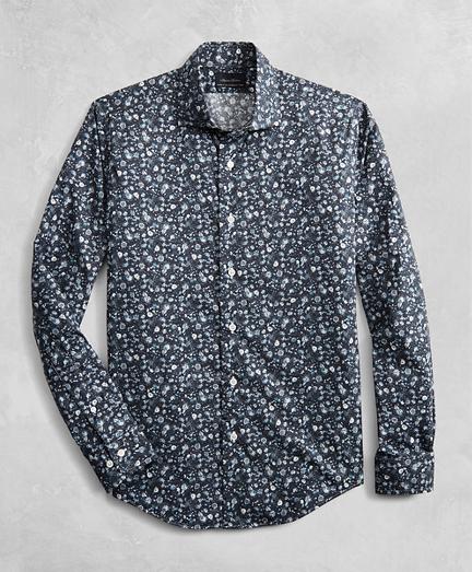 Golden Fleece® Regent Fitted Floral Sport Shirt
