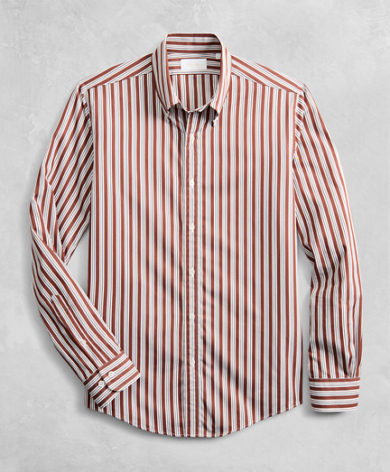 Golden Fleece® Regent Fitted Multi-Stripe Sport Shirt