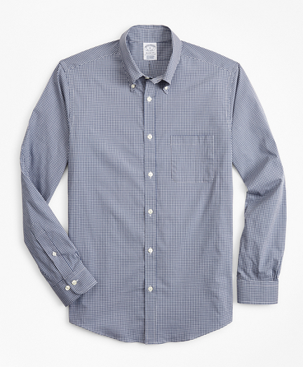 Regent Regular-Fit  Sport Shirt, Performance Series with COOLMAX®, Gingham