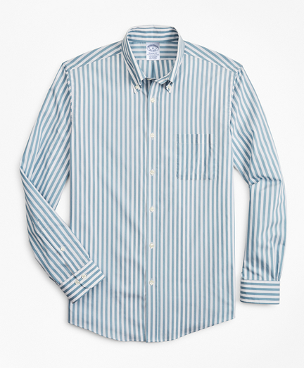 Regent Fitted Sport Shirt, Performance Series with COOLMAX®, Stripe
