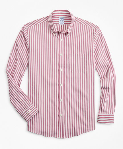 Regent Regular-Fit  Sport Shirt, Performance Series with COOLMAX®, Stripe