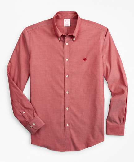 Stretch Madison Classic-Fit Sport Shirt, Non-Iron