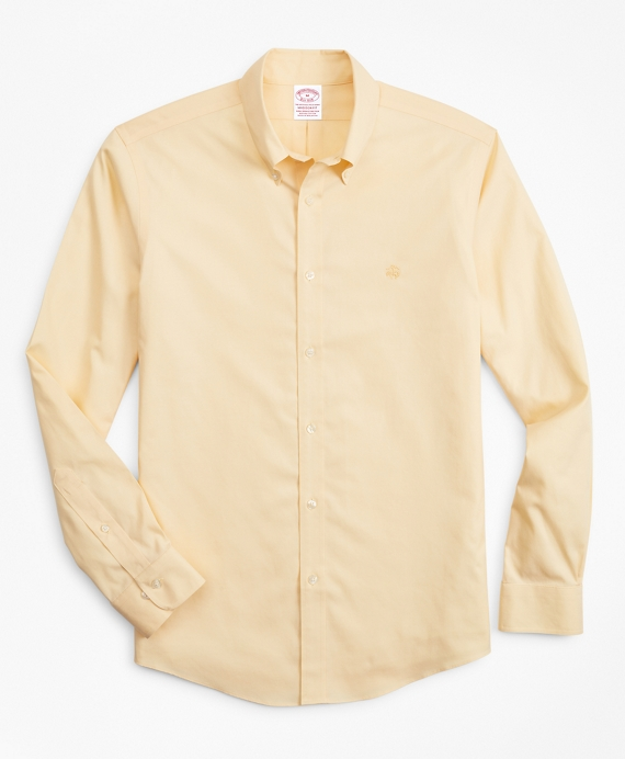 Stretch Madison Classic-Fit Sport Shirt, Non-Iron Yellow