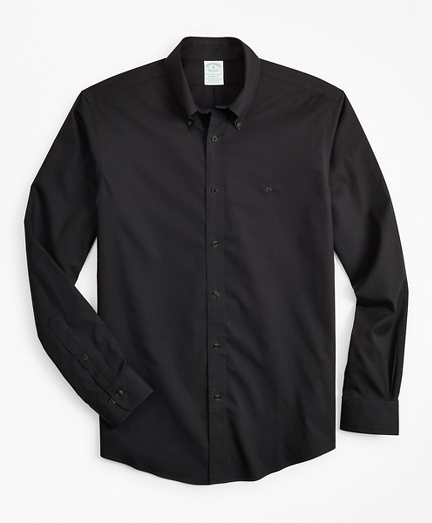Stretch Milano Slim-Fit Sport Shirt, Non-Iron