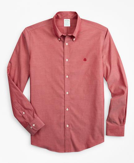 Stretch Milano Slim-Fit Sport Shirt, Non-Iron