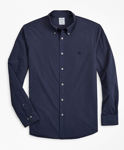 Regent Fit Garment-Dyed Sport Shirt