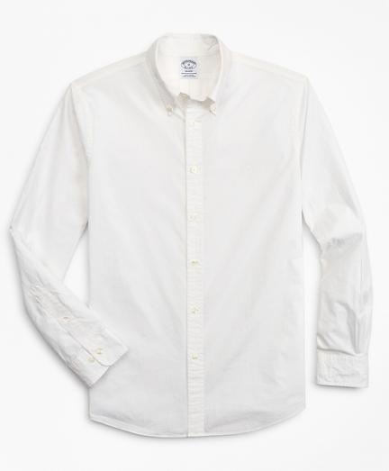 Brooksbrothers Regent Fit Garment-Dyed Sport Shirt