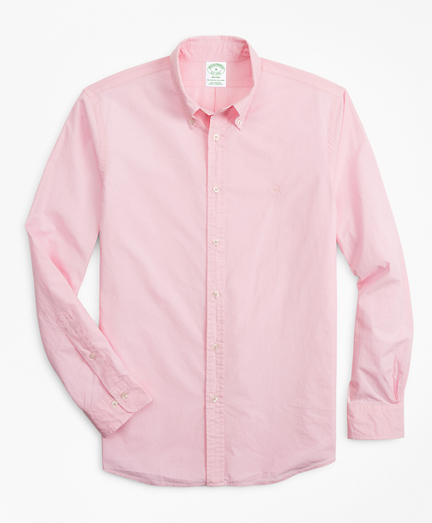 Milano Fit Garment-Dyed Sport Shirt