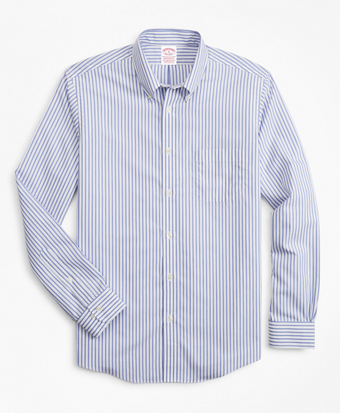 Stretch Madison Classic-Fit Sport Shirt, Non-Iron Candy Stripe