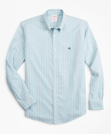 Stretch Madison Classic-Fit Sport Shirt, Non-Iron Stripe