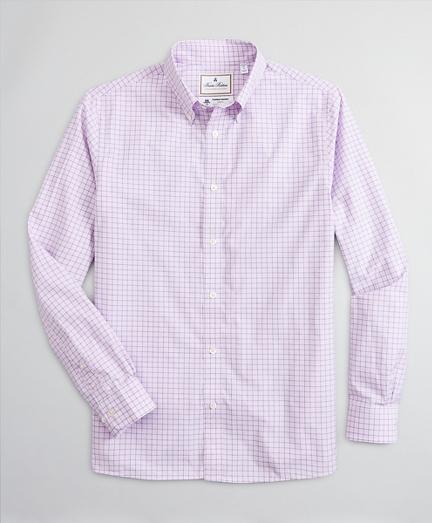 Luxury Collection Regent Regular-Fit Sport Shirt, Button-Down Collar Check