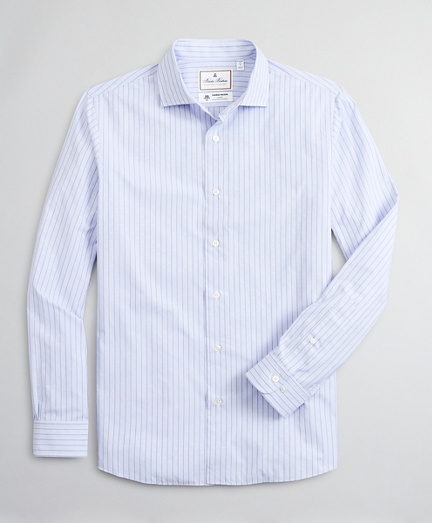 Luxury Collection Regent Regular-Fit Sport Shirt, Spread Collar Stripe