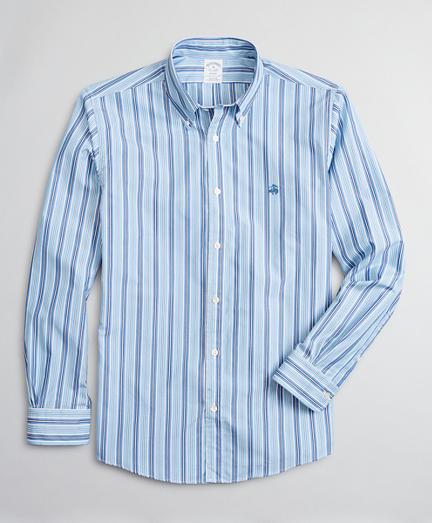 Luxury Collection Regent Regular-Fit Sport Shirt, Button-Down Collar Stripe
