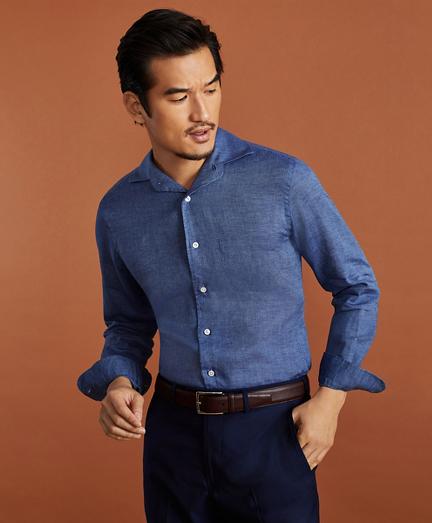 Golden Fleece® Regent Regular-Fit Linen Sport Shirt