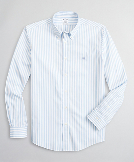Stretch Regent Fitted Sport Shirt, Non-Iron Bold Bengal Stripe
