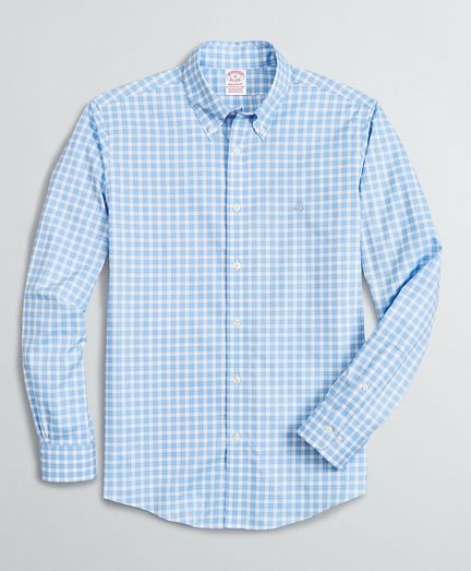 Stretch Madison Classic-Fit Sport Shirt, Non-Iron Micro-Check