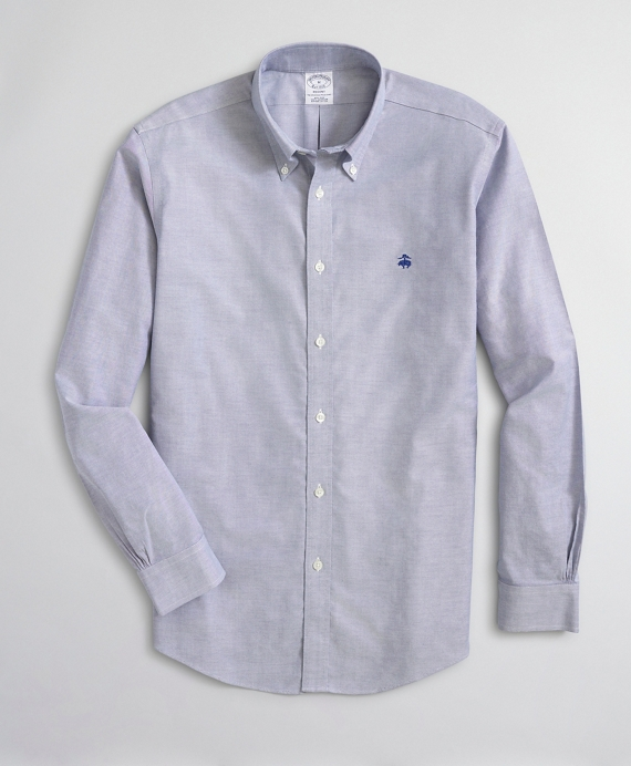 Regent Fitted Sport Shirt, Non-Iron Sodalite