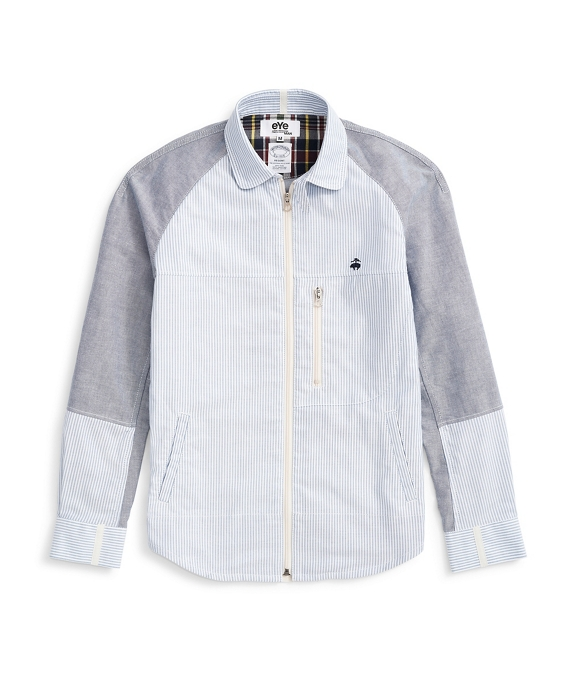 Brooks Brothers   eYe COMME des GARCONS JUNYA WATANABE MAN: The Shirt Jacket Blue