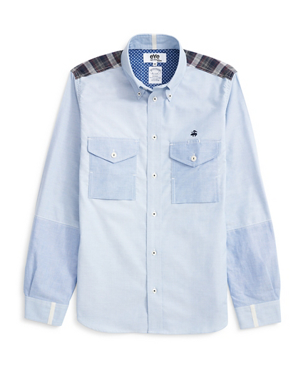 Brooks Brothers eYe COMME des GARCONS JUNYA WATANABE MAN: The Button-Down Patchwork Shirt