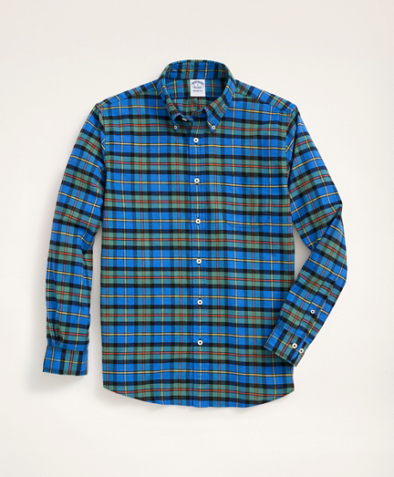 Regent Regular-Fit Portuguese Flannel Shirt