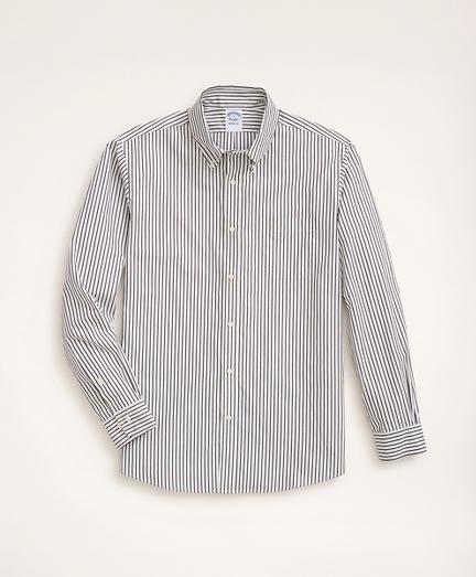 Regent Regular-Fit Original Broadcloth Sport Shirt, Bengal Stripe
