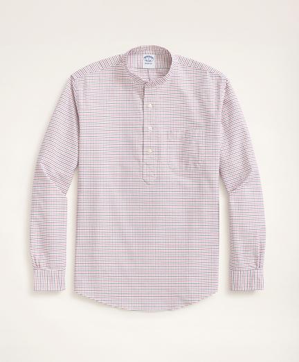 Regent Regular-Fit Cotton Oxford Popover Shirt