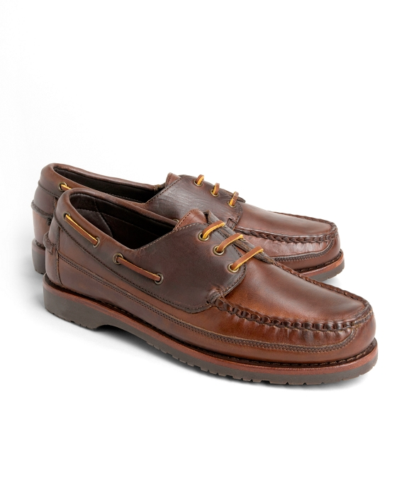 d2b0e13cb1 Mini Lug Sole Boat Shoes - Brooks Brothers