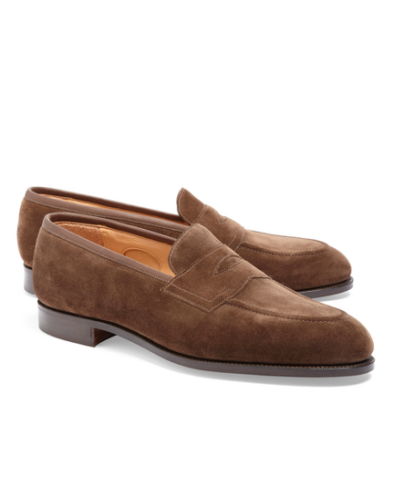 Edward Green Piccadilly Suede Loafers