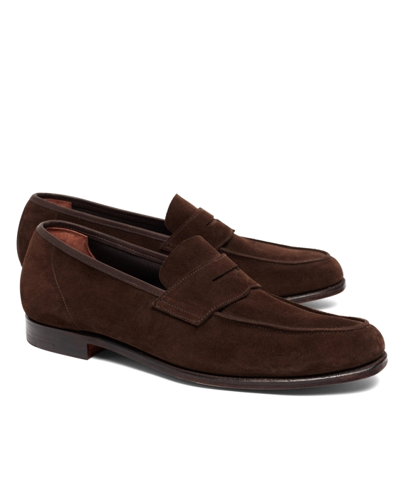 Lightweight Suede Loafers Brown