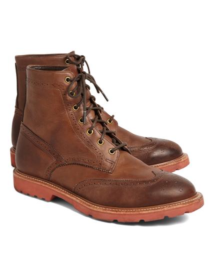 Vintage Wingtip Boots