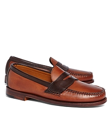 Rancourt & Co. Two-Tone Penny Loafers
