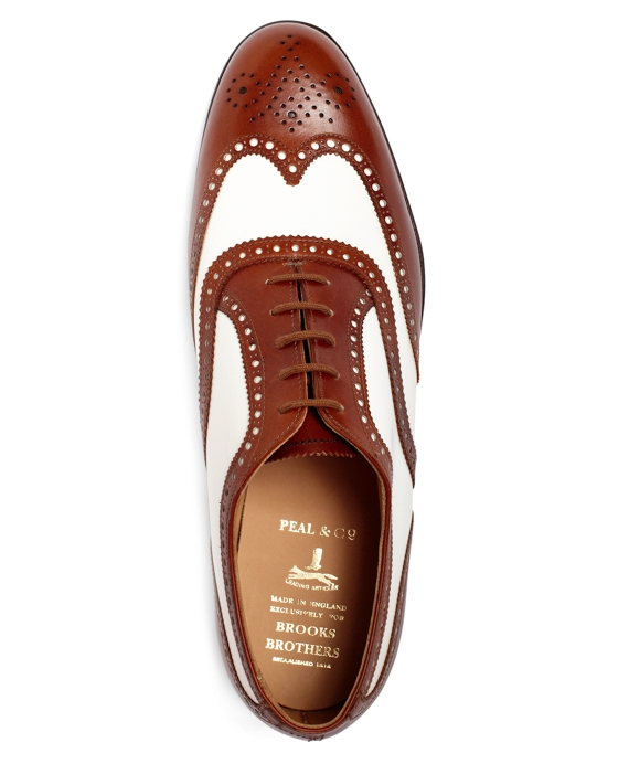 4a677090d13 The Great Gatsby Collection White and Brown Spectator Wingtips ...