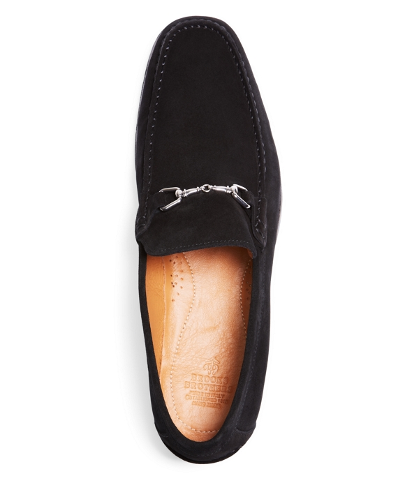 8cca6f20bb48a Men's Suede Buckle Loafers | Brooks Brothers