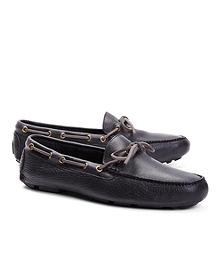 Pebble Leather Driving Mocs