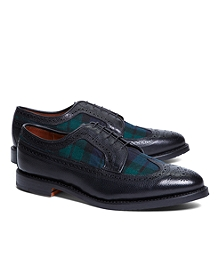 Leather and Wool Brogues