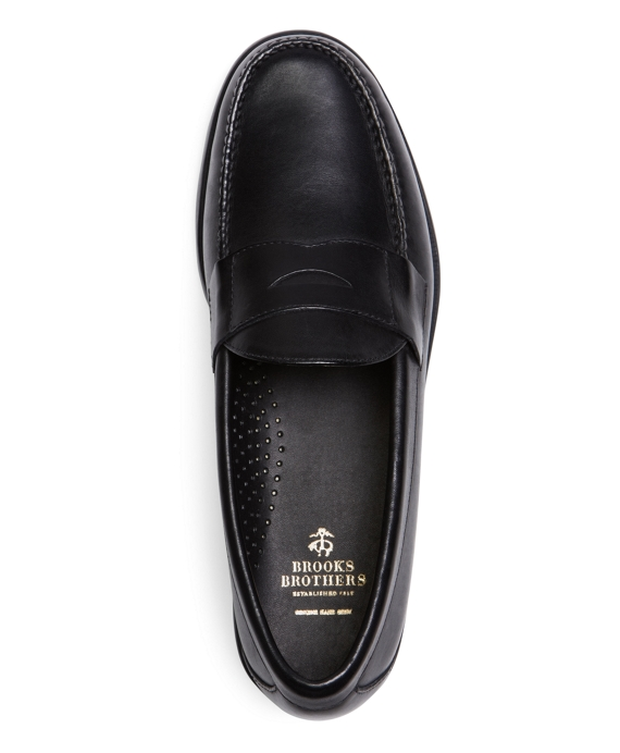 Men S Classic Calfskin Penny Loafers Brooks Brothers