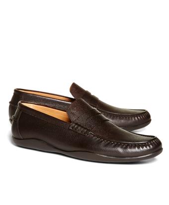 Harrys Of London® Scotch Grain Basel Leather Loafers