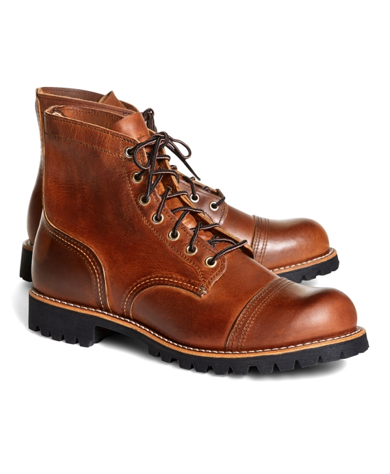 Red Wing for Brooks Brothers 4556 Iron Ranger Boots Brown