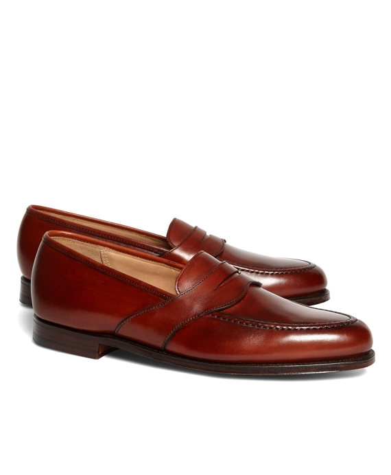 Peal & Co.® Extended Strap Loafers Burgundy