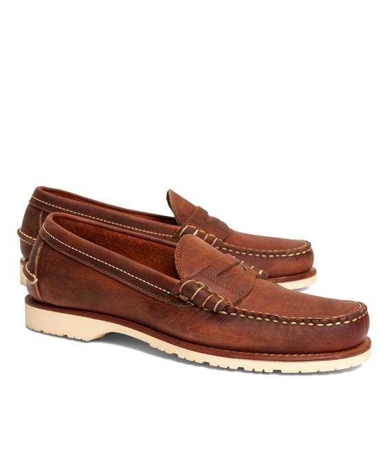 Men's Red Wing Copper Mini Lug Penny Loafers | Brooks Brothers