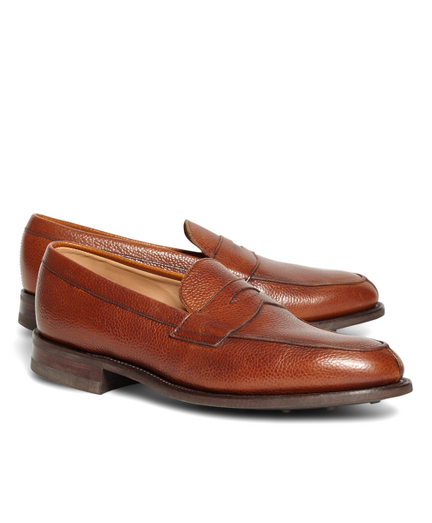 Peal & Co.® Cognac Pebble Loafers